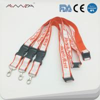 China High quality Personalized Polyester Custom sublimation ID Key Lanyards for sale