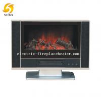 600 X 140 X 510 mm freestanding fireplace heater in black color with 1800W power