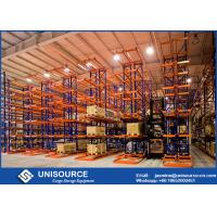 Buy cheap Stable Heavy Duty Steel Shelving , Direct Access High Density Racking For Garage from wholesalers