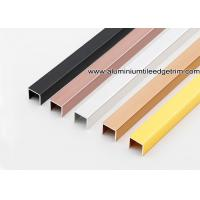 Wholesale U10mm U Channel / Splint / Brace / Tile Edging / Trim Made From Aluminum / Metal from china suppliers