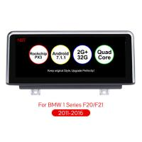 Wholesale PX3 Android 7.1 10.25 inch Car Multimedia Player For BMW 1 Series F20 F21(2011-2016) Original NBT System Auto Navigation from china suppliers