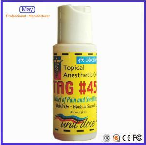 During Tattoo Numb Skin Fast Gel TAG#45 Anesthetic Gel No Pain Gel Manufacturer