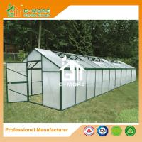 Wholesale Aluminum Greenhouse-Titan series-1006X306X243CM-Green/Black Color-10mm thick PC from china suppliers