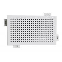 Wholesale Decorative Perforated Aluminum Wall Panels DIA 4 mm Punch Holes from china suppliers