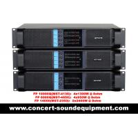 Buy cheap High Stability 4x1300W Switching Power Amplifier FP 10000Q With Neutrik from wholesalers