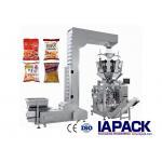 China Multifunctional Granule Packing Machine 10 - 500g Filling Range 180 - 420mm Film Roll Width for sale