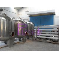 Wholesale Industrial 20T Single Level Ro Machine With Stainless Steel Water Storage Tanks from china suppliers
