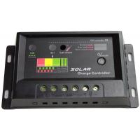 China OEM / ODM 10A 12 / 24V PWM Solar Charge Controller Full electronic protection for sale