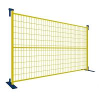 Wholesale 6'*9.5' PVC Coated Portable Fence Panels , Temporary Construction Fence Security from china suppliers