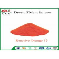 Wholesale ISO Fabric Color Dye Reactive Brill Orange K-7R C I Reactive Orange 13 from china suppliers