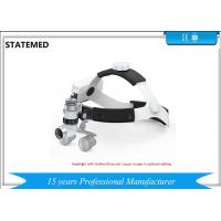 5W High Illumination Power Rechargeable Surgical Headlamp Medical Led Headlight With Galileo Binocular Loupes for sale