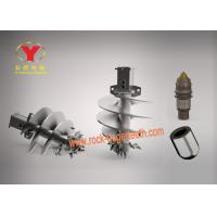 Single / Double Head Rotary Drilling Tools , Well Drilling Auger For Earth Drill