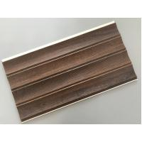 Wholesale 25cm × 8mm Four Arcs PVC Wooden Plastic Laminate Panels Customized Length from china suppliers