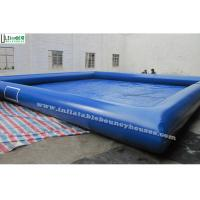 Wholesale Blue Big Inflatable Water Pool from china suppliers