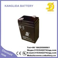 Wholesale 6v 4ah rechargeable solar battery manufacturer in China from china suppliers