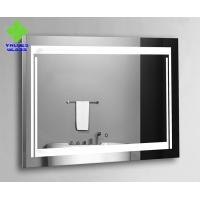 Wall Mounted Frameless Silver Wall Mirror Superior Corrosion Resistance for sale
