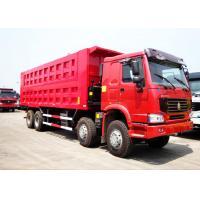 Sinotruk HOWO 50 Tons 8*4 Dump Tipper Truck For Mineral Material Transportation