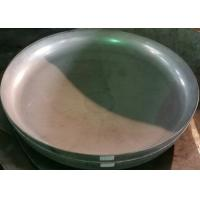 Wholesale ISO9001 Head Forming Process Stainless Alloy Steel Welding Welded Pipe Dish End Cap from china suppliers