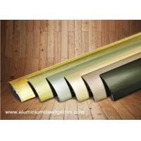 Wholesale Multi Use Curved Surface Aluminium Floor Trims With Brushed Effect For Hotel Project from china suppliers