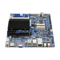 Best 2 RS232 Ports Mini ITX Fanless PC Motherboard j1800 CPU Support 1080P wholesale