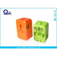 Quality AC Power External Usb Power Travel Adapter Dual USB Port Short Circut Protection for sale