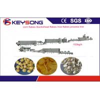 Wholesale Big Capacity Corn Flakes Processing Machine , Breakfast Cereal Extruder Machine For Snacks from china suppliers