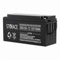 Wholesale Gel Battery with 12V Normal Voltage, Used in UPS Solar Control Wind Energy and Power System  from china suppliers