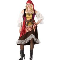 Wholesale Sexy Costumes Wholesale Velvet Brown Deckhand Darlin Costume with Size S to XXL Available from china suppliers