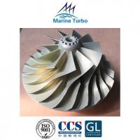 China T- ABB Turbocharger / T- TPS52 Turbo Compressor Wheel For Marine Diesel Engine Type Parts on sale