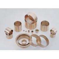 Wholesale DIN1494 / ISO3547 Sliding Wrapped Bronze Bearing Low Maintenance With Lubrication Pockets from china suppliers