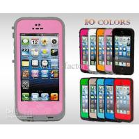 Wholesale Lime - Black Waterproof Cell Phone Cases , Redpepper Dirt Proof Case For Iphone 5 5G from china suppliers