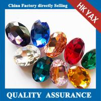 Wholesale Factory price wholesale point back peacock blue acrylic rhinestone from china suppliers