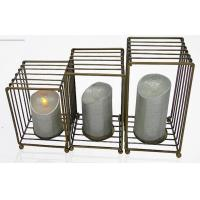 China Customized Steel Candle Holder for Lavender Aromatherapy Candle Supporter for sale