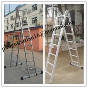 Wholesale Aluminium ladder&household ladder,Aluminium Step ladder folding ladder from china suppliers