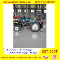 China Factory Price Good Quality Tractor Truck Mounted Mobile Hydraulic  Water Well Drilling Rig For 300 m Depth for sale