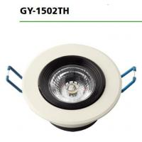 Wholesale 3000k / 6500k Round Led Downlights GY-1502TH 7W AC100-265V Input Voltage from china suppliers