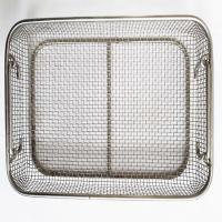Wholesale Medical Rectangular Sterilized Stainless Steel Mesh Basket With Handles from china suppliers