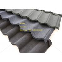 Wholesale Green Back Stone Coated Metal Roof Tile 2.08 Sheets Tiles Per Sqm , Galvalume Steel Sheet from china suppliers