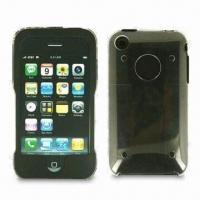 Wholesale Silicone-crystal Cases for iPhone 3G, Provide Strong Layer of Protection, Durable and Lightweight from china suppliers