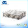 NdFeB Materials Custom Neodymium Magnets N35 Bright Silver Diameter 1 - 50 MM for sale