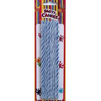 Wholesale Blue and White Birthday Party Candles (YFC0004) from china suppliers