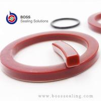 Wholesale PTFE PFA FEP ENCAPSULATED RED SILICONE MVQ VMQ CAM LOCK/ GAM LOCK GASKETS from china suppliers