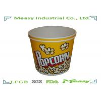 Wholesale 170OZ / 46OZ Popcorn Buckets Double PE Lined Oilproof For Watching Movies from china suppliers