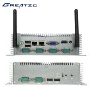 Best I3-3217U CPU Industrial Embedded Computer , Dual Lan VGA Low Power Fanless PC wholesale