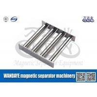 Powerful Magnetic Separator Machine , Stainless Steel Magnetic Filter / Shelf / Gray