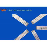 Soft Au Plating 0.5mm FFC Cable / FFC Ribbon Cable ROHS Approval