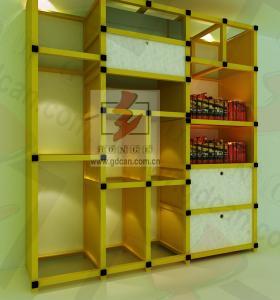 Decorations Cardboard Shelving Unit , Cardboard Box Furniture