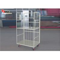 Refrigerated Steel Cage Trolley With Mute Pu Castors 1200*800*1600MM for sale