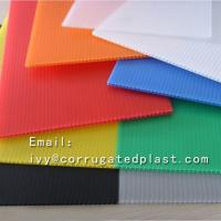 Wholesale 4mm Corrugated plastic sheet 4x8/ Coroplast with low price/Trade Assurance Color Clear Roofing Corrugated Plastic Sheet from china suppliers