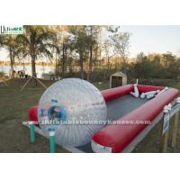 Wholesale Crazy Fun Inflatable Human Bowling Race Track With Zorb Ball from china suppliers